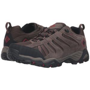 コロンビア メンズ シューズ・靴 ハイキング・登山 North Plains II Waterproof Cordovan/Gypsy|fermart2-store