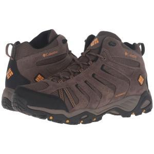 コロンビア メンズ シューズ・靴 ハイキング・登山 North Plains II Waterproof Mid Mud/Squash|fermart2-store