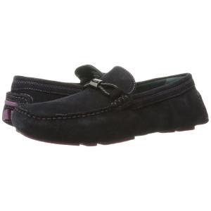 テッドベーカー Ted Baker メンズ ローファー シューズ・靴 Carlsun 2 Dark Blue Suede|fermart2-store