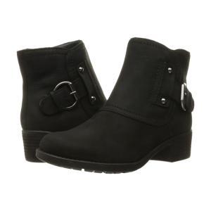 ハッシュパピー レディース ブーツ シューズ・靴 Proud Overton Black WP Leather|fermart2-store