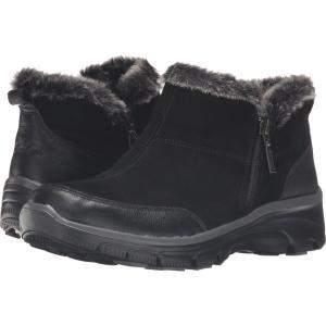スケッチャーズ レディース ブーツ シューズ・靴 Easy Going Black|fermart2-store