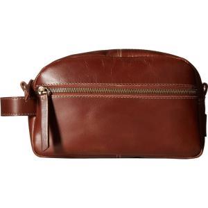 ティンバーランド メンズ ポーチ Nevada Leather Travel Kit Cognac|fermart2-store