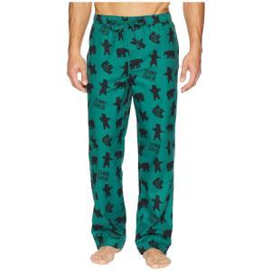 ライフイズグッド Life is Good メンズ パジャマ・ボトムのみ インナー・下着 Classic Sleep Pants Forest Green 2|fermart2-store