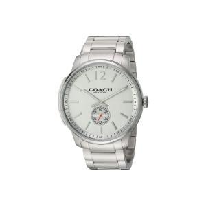 コーチ メンズ 腕時計 Bleecker - 14602077 Silver|fermart2-store