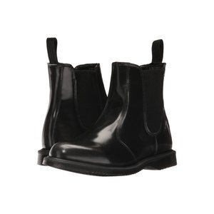 ドクターマーチン Dr. Martens レディース ブーツ シューズ・靴 Flora Black Arcadia|fermart2-store