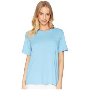 リッチャー プアラー Richer Poorer レディース Tシャツ トップス Crew Pocket Tee Blue|fermart2-store