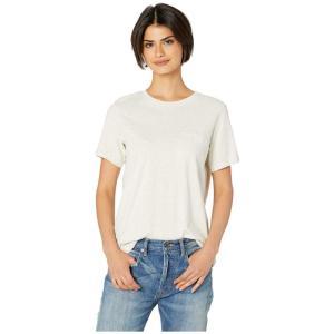 リッチャー プアラー Richer Poorer レディース Tシャツ トップス Crew Pocket Tee Oatmeal|fermart2-store