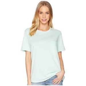 リッチャー プアラー Richer Poorer レディース Tシャツ トップス Crew Pocket Tee Mint|fermart2-store