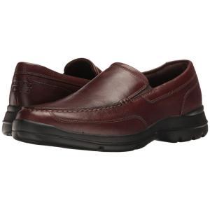 ロックポート Rockport メンズ スリッポン・フラット シューズ・靴 Junction Point Slip-On Chocolate|fermart2-store
