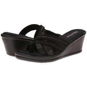 スケッチャーズ レディース サンダル・ミュール シューズ・靴 Rumblers - Happy Dayz Black|fermart2-store
