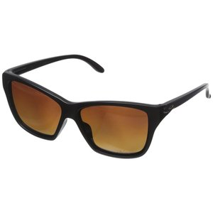 オークリー Oakley レディース スポーツサングラス Hold On Matte Black/Brown Gradient Polarized|fermart2-store