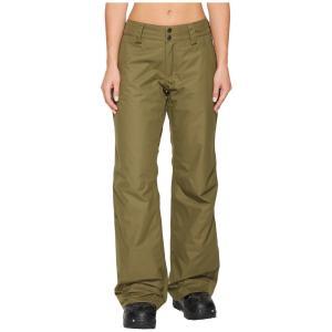 ザ ノースフェイス レディース ボトムス・パンツ スキー・スノーボード Sally Pants Burnt Olive Green|fermart2-store