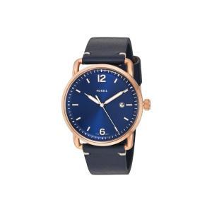 フォッシル Fossil メンズ 腕時計 The Commuter Leather - FS5274 Blue|fermart2-store