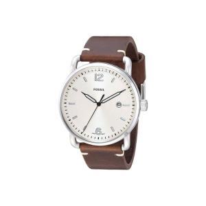 フォッシル Fossil メンズ 腕時計 The Commuter Leather - FS5275 Cream|fermart2-store