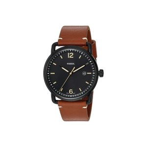 フォッシル Fossil メンズ 腕時計 The Commuter Leather - FS5276 Black|fermart2-store