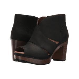 ダンスコ レディース ブーツ シューズ・靴 Delphina Black Milled Nubuck|fermart2-store