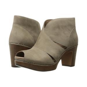 ダンスコ レディース ブーツ シューズ・靴 Delphina Taupe Milled Nubuck|fermart2-store