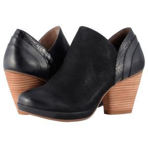 ダンスコ Dansko レディース ブーツ シューズ・靴 Marcia Black Burnished Nubuck|fermart2-store