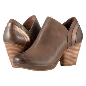 ダンスコ レディース ブーツ シューズ・靴 Marcia Teak Burnished Nubuck|fermart2-store