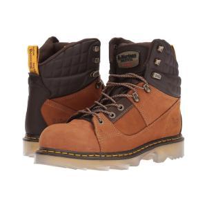 ドクターマーチン Dr. Martens レディース ブーツ シューズ・靴 Camber Alloy Toe Chestnut Wind River Hydro/Dark Brown Soft Rubbery|fermart2-store
