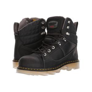 ドクターマーチン Dr. Martens レディース ブーツ シューズ・靴 Camber Alloy Toe Black Connection/Black Soft Rubbery|fermart2-store