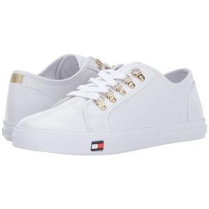 トミー ヒルフィガー レディース スニーカー シューズ・靴 Luxe White|fermart2-store