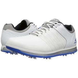 スケッチャーズ メンズ スニーカー シューズ・靴 Go Golf Pro 2 White/Grey/Blue|fermart2-store