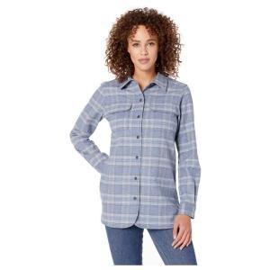 ペンドルトン Pendleton レディース ブラウス・シャツ トップス board shirt Blue Chambray Plaid|fermart2-store