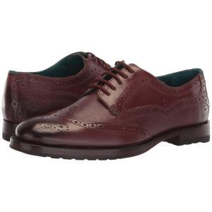 テッドベーカー Ted Baker メンズ 革靴・ビジネスシューズ シューズ・靴 Senape Dark Red|fermart2-store