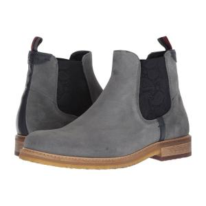 テッドベーカー Ted Baker メンズ ブーツ シューズ・靴 Bronzo Grey Suede|fermart2-store