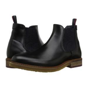 テッドベーカー Ted Baker メンズ ブーツ シューズ・靴 Bronzo Black Leather|fermart2-store