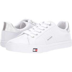 トミー ヒルフィガー Tommy Hilfiger レディース スニーカー シューズ・靴 Lustery White/Silver|fermart2-store