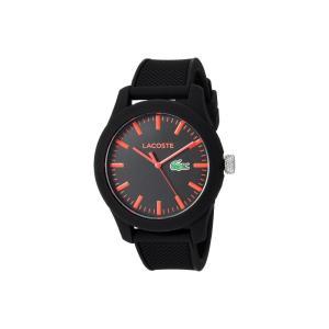ラコステ メンズ 腕時計 2010794 - L1212 Black/Red|fermart2-store