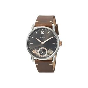 フォッシル Fossil メンズ 腕時計 The Commuter Twist - ME1165 Brown|fermart2-store