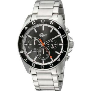 ラコステ メンズ 腕時計 2010855 - WESTPORT Silver|fermart2-store