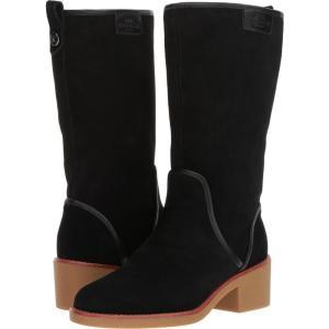 コーチ レディース ブーツ シューズ・靴 Palmer Black Suede|fermart2-store