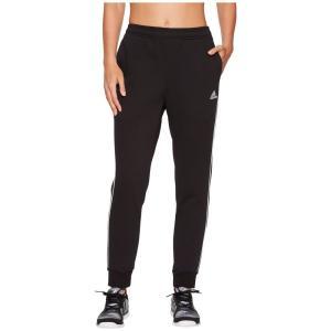 アディダス レディース スウェット・ジャージ ボトムス・パンツ Core18 Sweatpants Black/White|fermart2-store