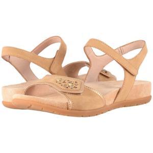 ダンスコ Dansko レディース サンダル・ミュール シューズ・靴 Blythe Sand Milled Nubuck|fermart2-store