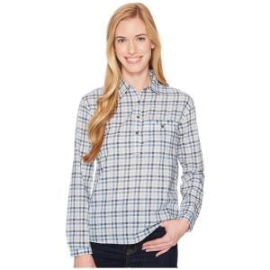 ザ ノースフェイス The North Face レディース ブラウス・シャツ トップス Barilles Pullover Shirt Dusty Blue Gingham|fermart2-store
