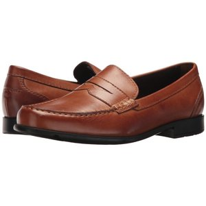 ロックポート メンズ ローファー シューズ・靴 Barnaby Lane Penny Brown 1|fermart2-store