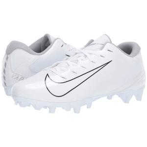 ナイキ Nike メンズ アメリカンフットボール シューズ・靴 Vapor Varsity 3 TD White/White/Wolf Grey|fermart2-store