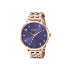 ニクソン Nixon レディース 腕時計 Arrow Rose Gold/Purple|fermart2-store