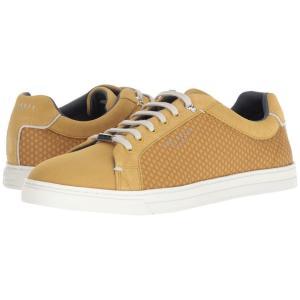 テッドベーカー Ted Baker メンズ スニーカー シューズ・靴 Sarpio Yellow Textile|fermart2-store