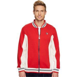 フィラ Fila メンズ ジャケット アウター Settanta Jacket Red/Gardenia/Navy|fermart2-store