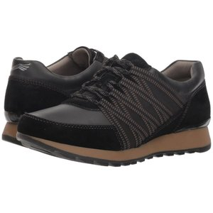 ダンスコ Dansko レディース スニーカー シューズ・靴 Gabi Black Burnished Nubuck|fermart2-store