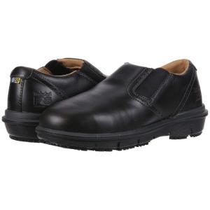 ティンバーランド Timberland メンズ スリッポン・フラット シューズ・靴 Boldon Slip-On Alloy Safety Toe SD+ Black|fermart2-store