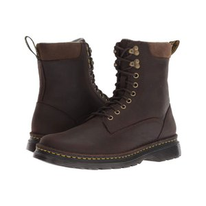 ドクターマーチン Dr. Martens メンズ ブーツ シューズ・靴 Vincent Hook Robson Dark Chocolate Muddy River Waterproof|fermart2-store