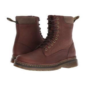 ドクターマーチン Dr. Martens メンズ ブーツ シューズ・靴 Vincent Robson Dark Brown Grizzly|fermart2-store