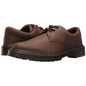 ドクターマーチン Dr. Martens メンズ 革靴・ビジネスシューズ シューズ・靴 Kent Dark Brown Crazy Horse Action|fermart2-store