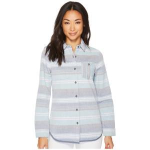ペンドルトン Pendleton レディース ブラウス・シャツ トップス Reversible Serape Cotton Shirt Blue Multi|fermart2-store